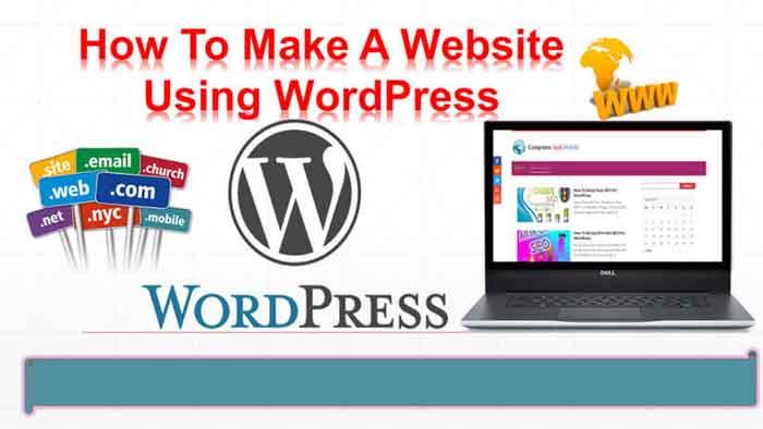 make website using wordpress