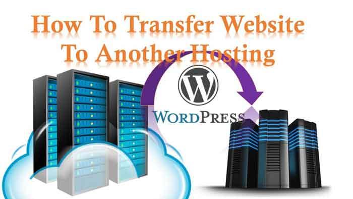 how to transfer website hosting