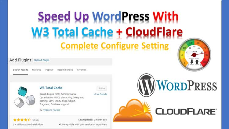 w3 total cache and cloudflare