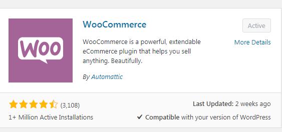 woo commerce for online store website