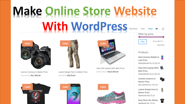 create-an-ecommerce-website-with-wordpress