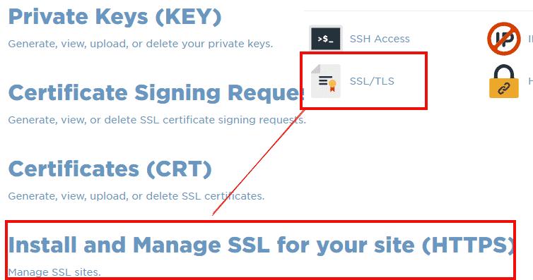 install free ssl certificate on hosting