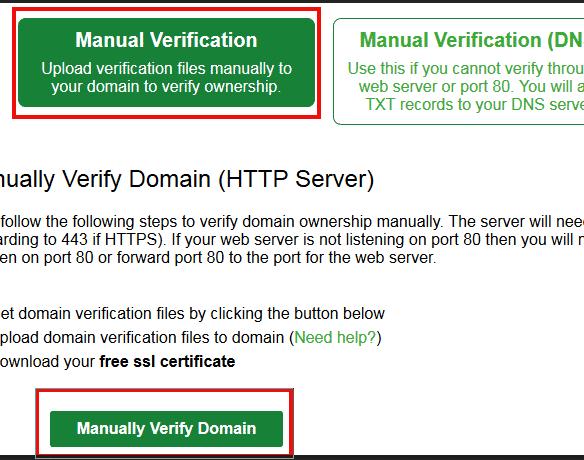 install free sll certificate on wordpress website