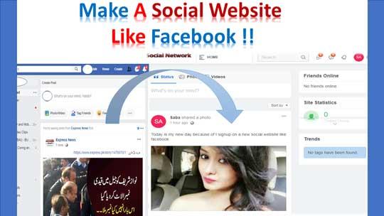 make-social-network-website